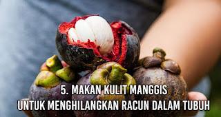 Makan Kulit Manggis untuk Menghilangkan Racun Dalam Tubuh