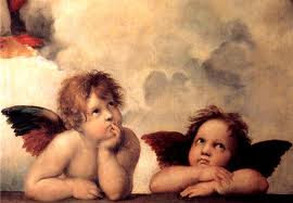Raphael cherubs used in Fellowship of Friends cult promotional materials