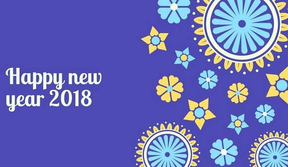 New Year 2018 Animated Images