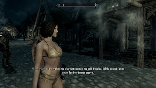 Skyrim Texture Replacer: No Dirty Bodies - Female Races