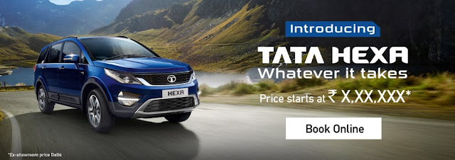 Tata Hexa on TataCLiQ.com