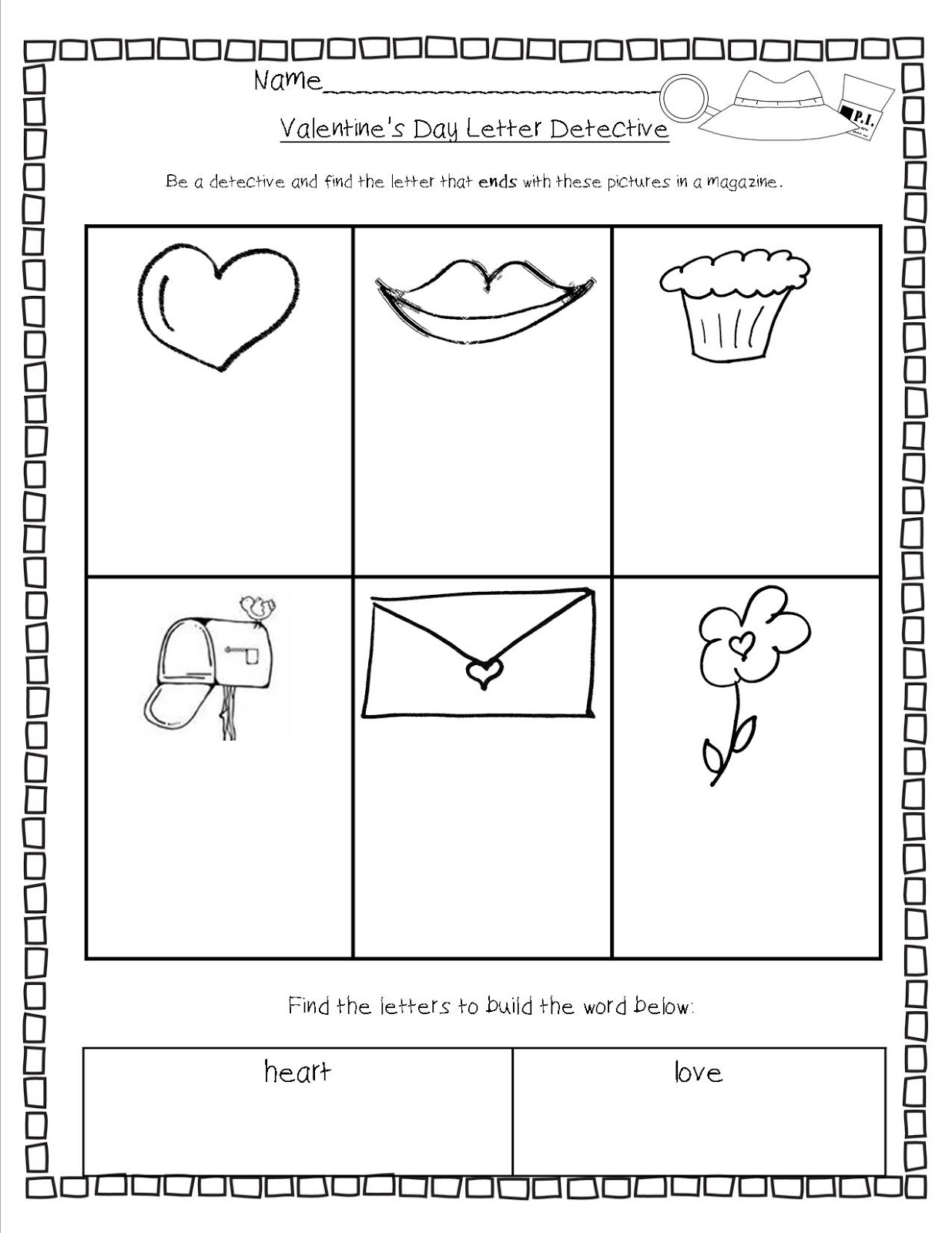 find a letter letter detective by robinson tpt mrs bohaty s kindergarten kingdom february 2013 335