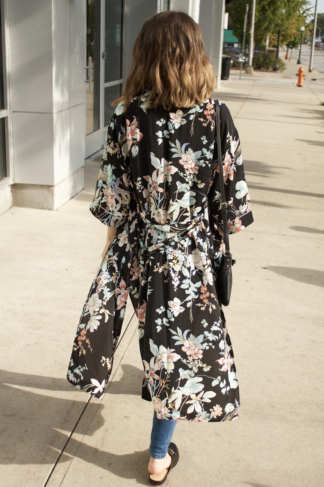 Floral TJMaxx Kimono