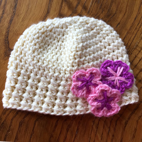 Newborn Holland Hat - Free Pattern