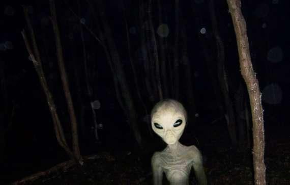 Los extraterrestres construían una base y devoraban personas