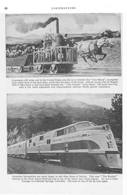 """The Rocket"", Rock Island Railroad, Chicago to Colorado Springs"