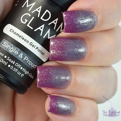 madam glam single and proud swatch
