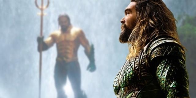 Primer vistazo al traje clásico de Aquaman