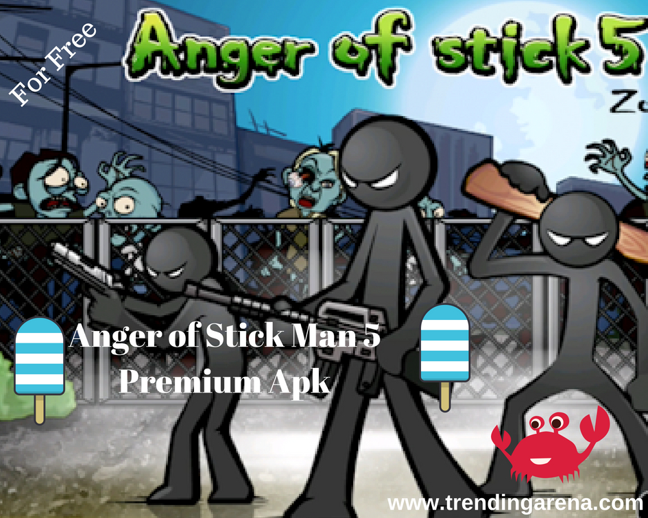 Anger Of Stick 5 Mod Premium Pro Crack Hack Apk | Android