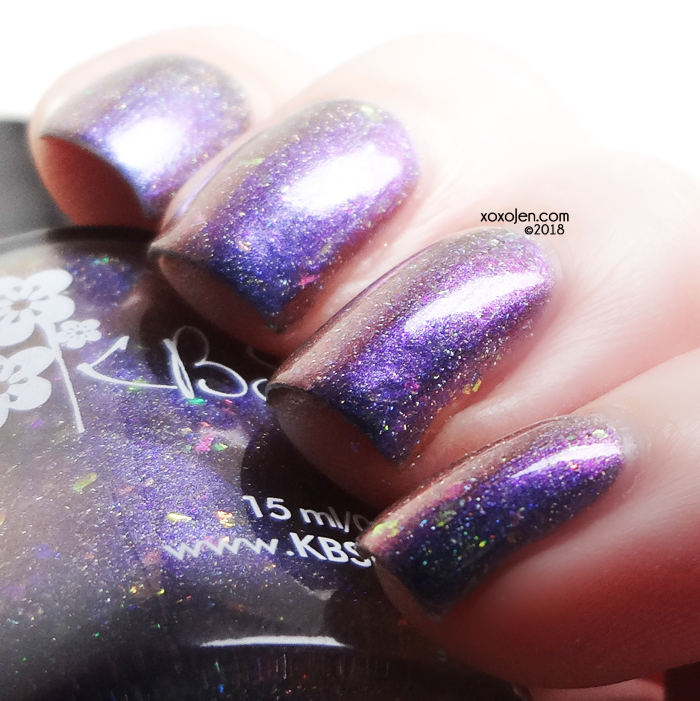 xoxoJen's swatch of KBShimmer: If You Want My Bodice