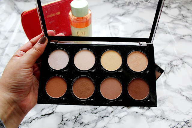 NYX Highlight and Contour Palette Review