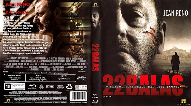 Capa Blu-ray 22 Balas