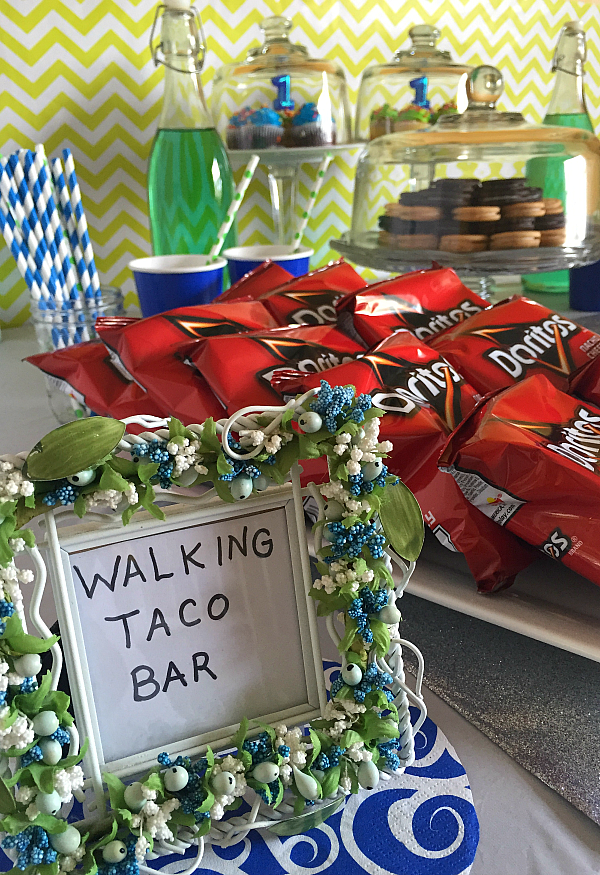 Walking Taco Bar Birthday Party