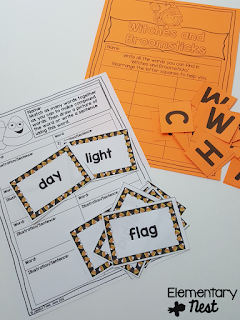 Halloween reading centers- October Activities for a primary classroom- PLUS a freebie!