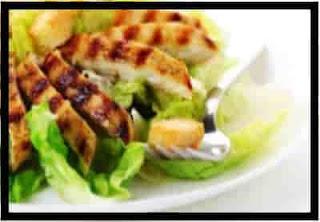 Simple Grilled Chicken Caesar Salad Recipe