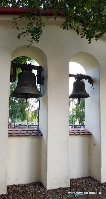 Warszawa Warsaw Bielany kościół pw. św. Marii Magdaleny na Bielanach Wólczyńska architektura dzwonnica dzwon