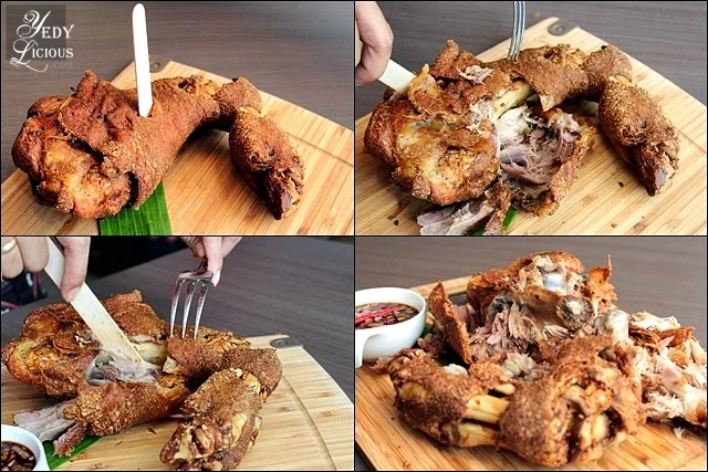 Crispy Pata You Can Crack with Popsicle Stick