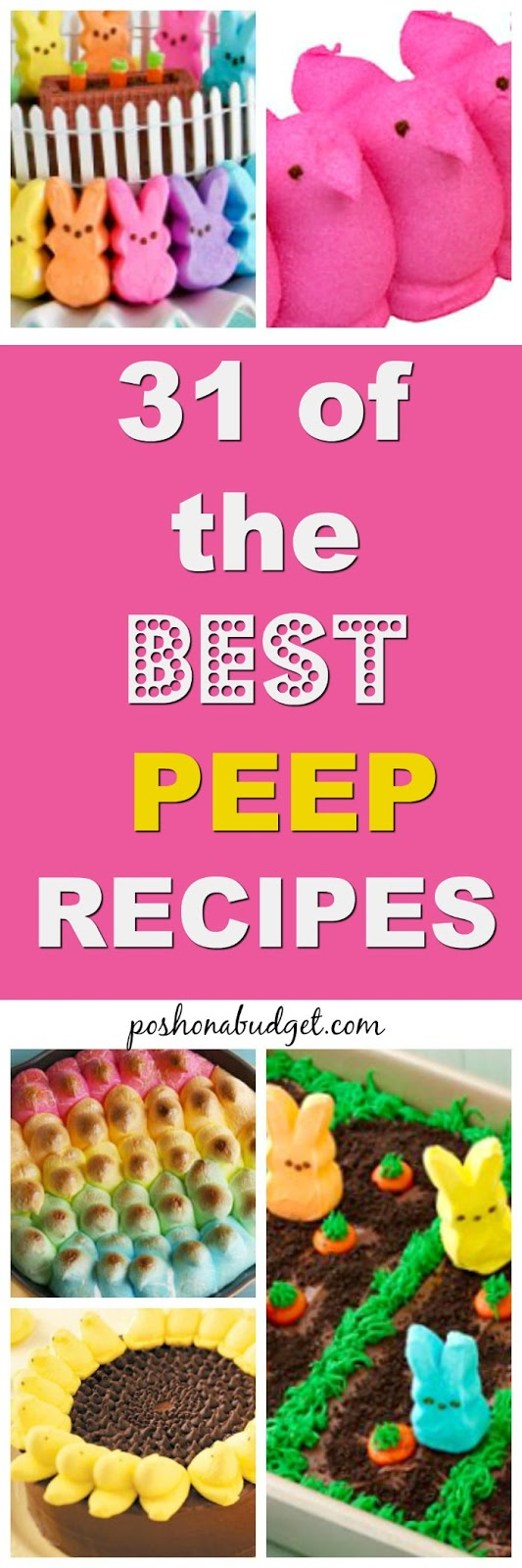 31 of the BEST PEEP RECIPES