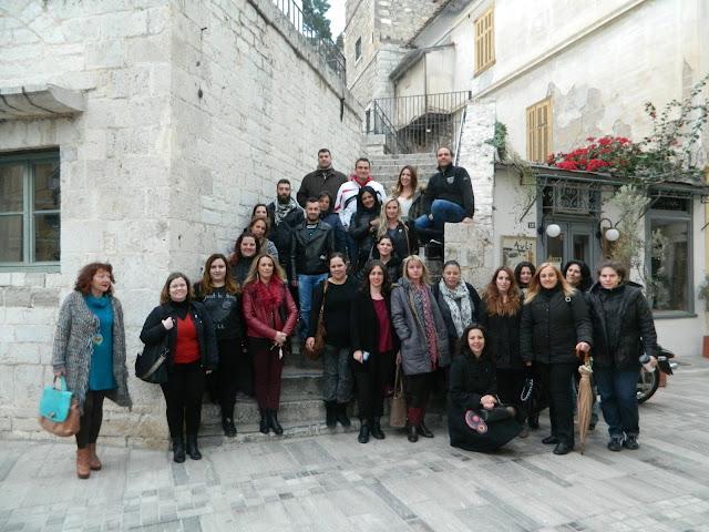 Το Δ.ΙΕΚ Ναυπλίου επισκέφθηκε την έκθεση του Κωνσταντίνου Δημούλη
