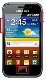Cómo resetear un Samsung Galaxy Ace Plus