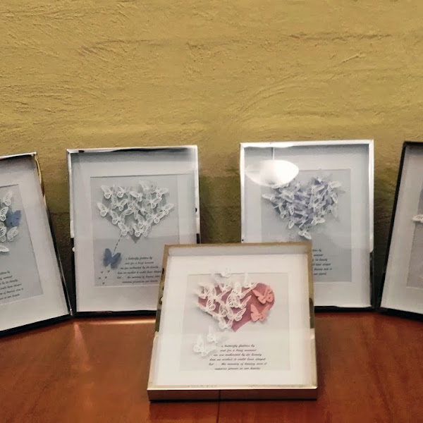 Butterfly Memorial Frames - SANDS South Australia