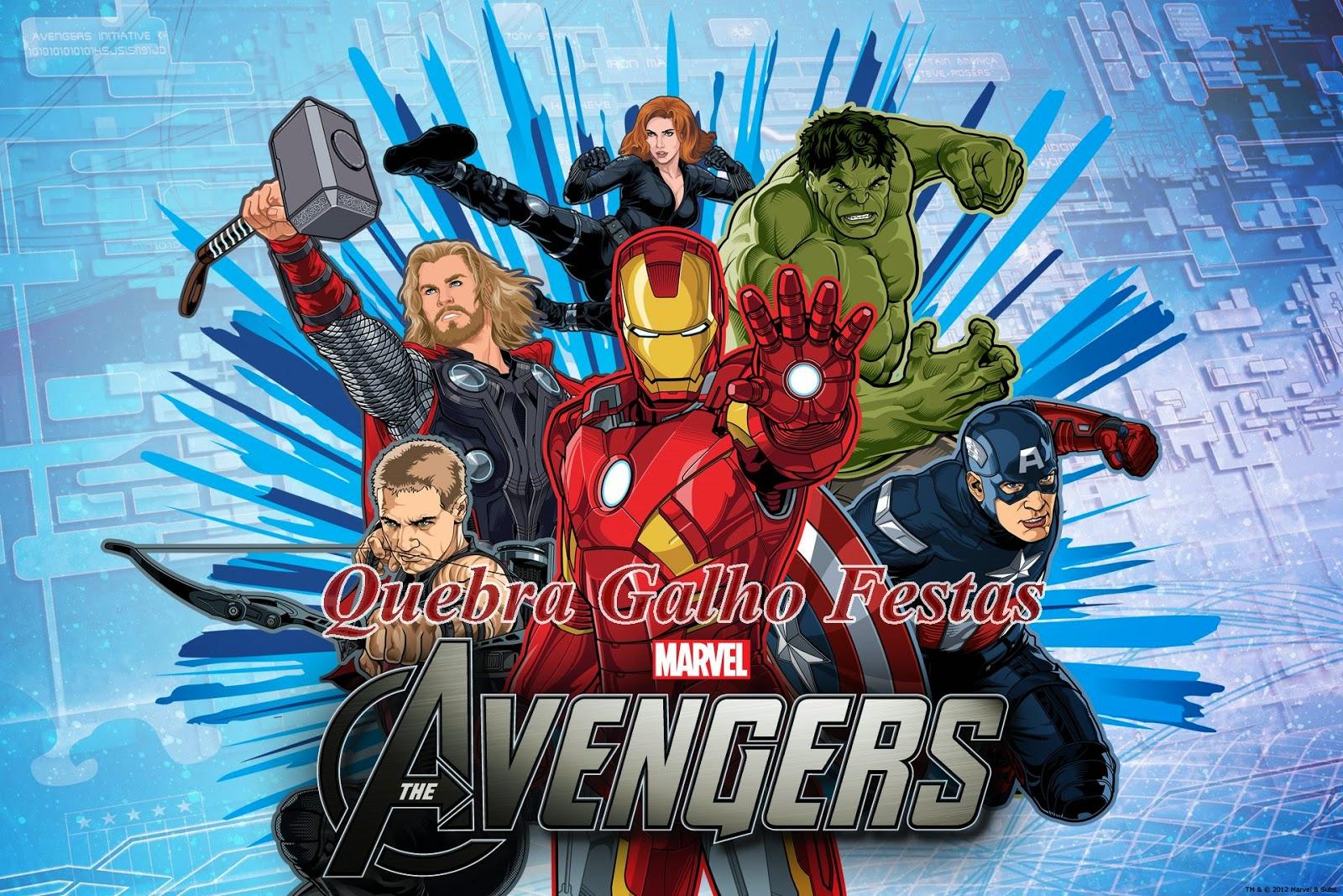 Lembrancinhas Heróis Marvel