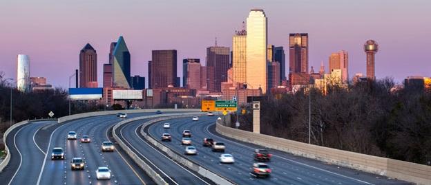 Alquiler de autos en Dallas y Texas
