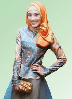 style hijab terbaru cantik