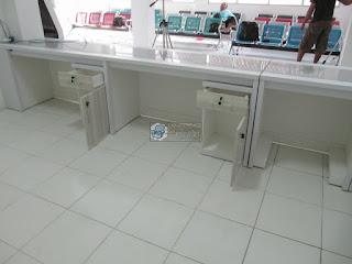 Furniture Semarang - Interior Lobby Pendaftaran - Frontdesk Pendaftaran