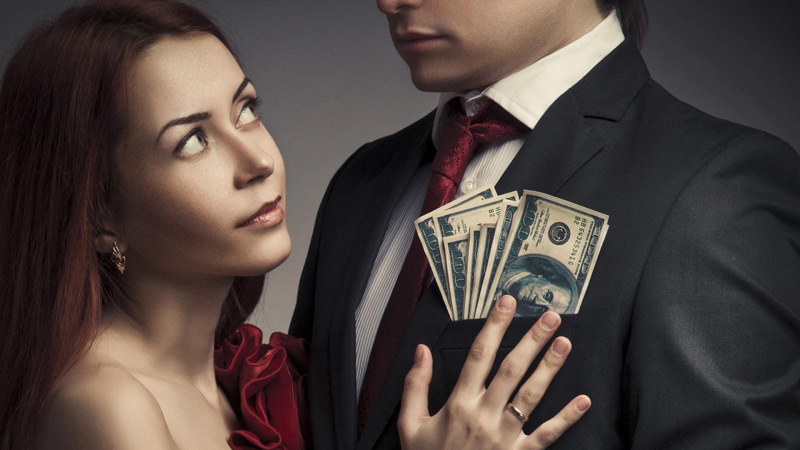 hombre con dinero busca mujer