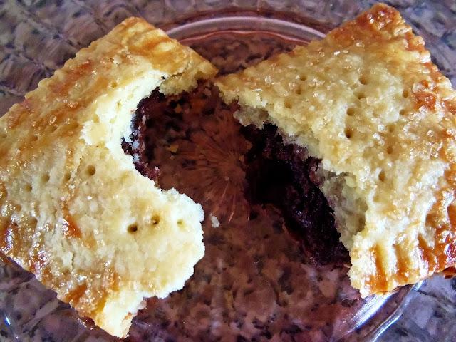 almond chocolate filled pop tart