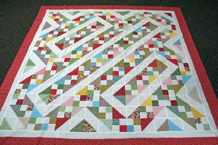Scrappy Bargello Quilt Pattern Free Quilt Pattern