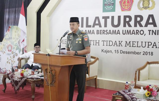 Panglima TNI: Para Ulama Tidak Pernah Absen Berjuang untuk Indonesia