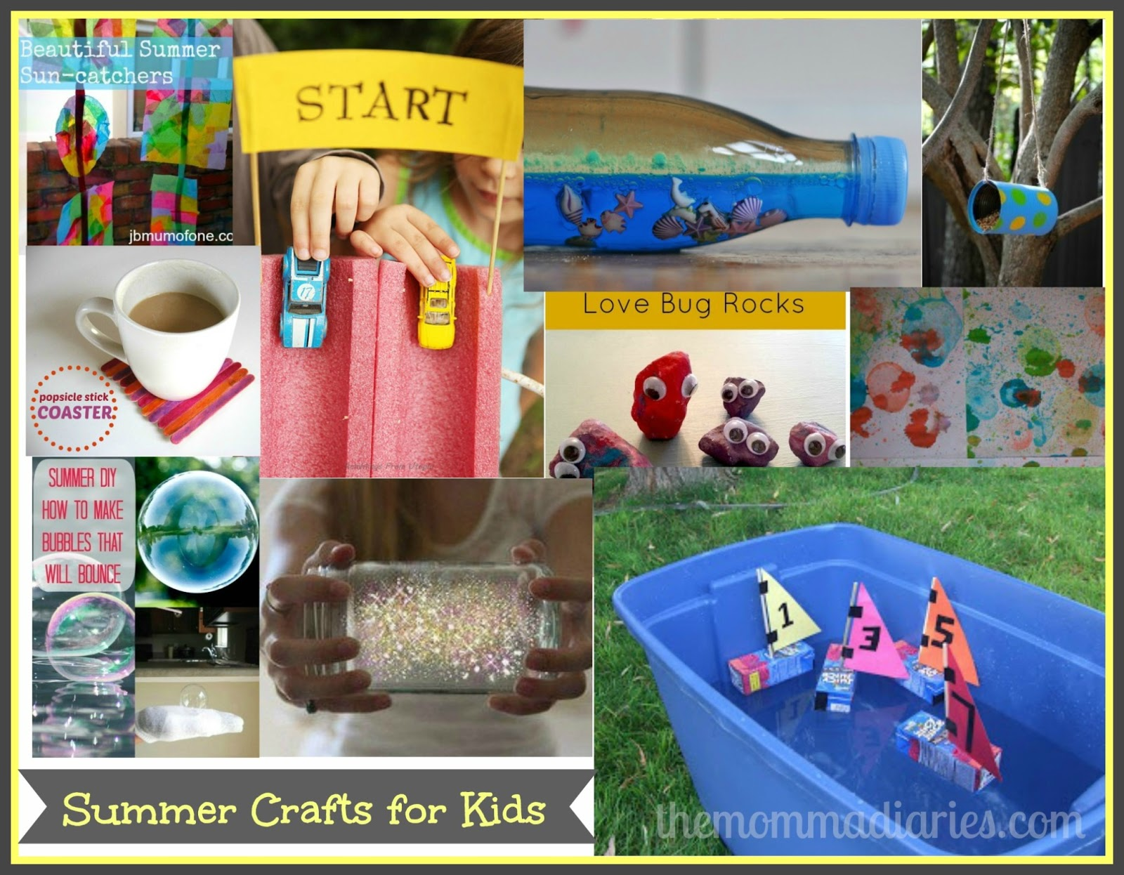Summer Crafts For Kids | The Momma Diaries