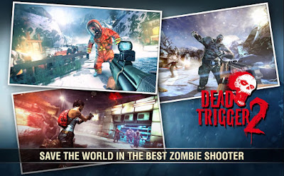 game zombie terbaik android dead trigger 2