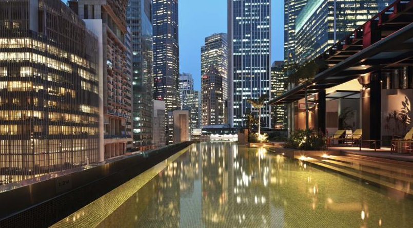 Best hotel rooftop pools in Singapore