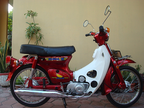 Honda 70 deluxe