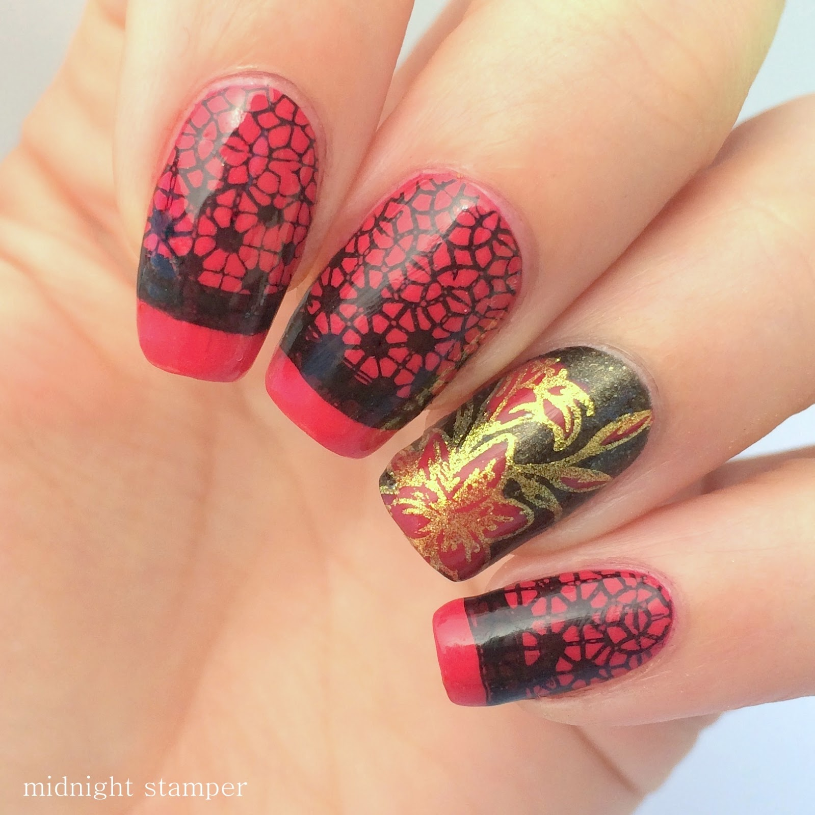 Midnight Stamper 26 Great Nail Art Ideas Work Appropriate Nail Art