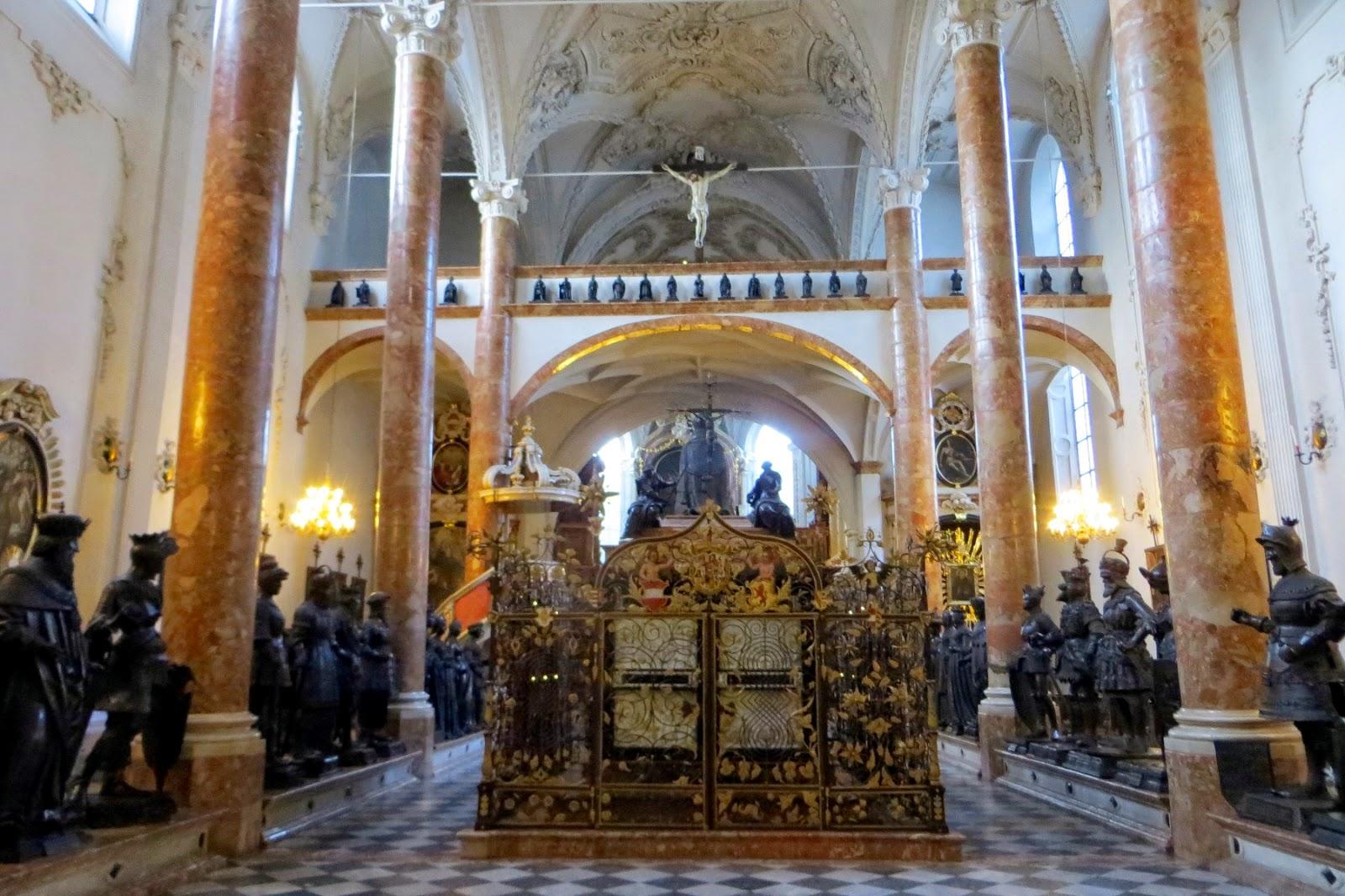 hofkirche innsbruck