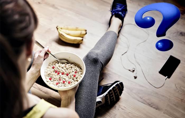 Cuándo es bueno y necesario comer carbohidratos al terminar de hacer ejercicio