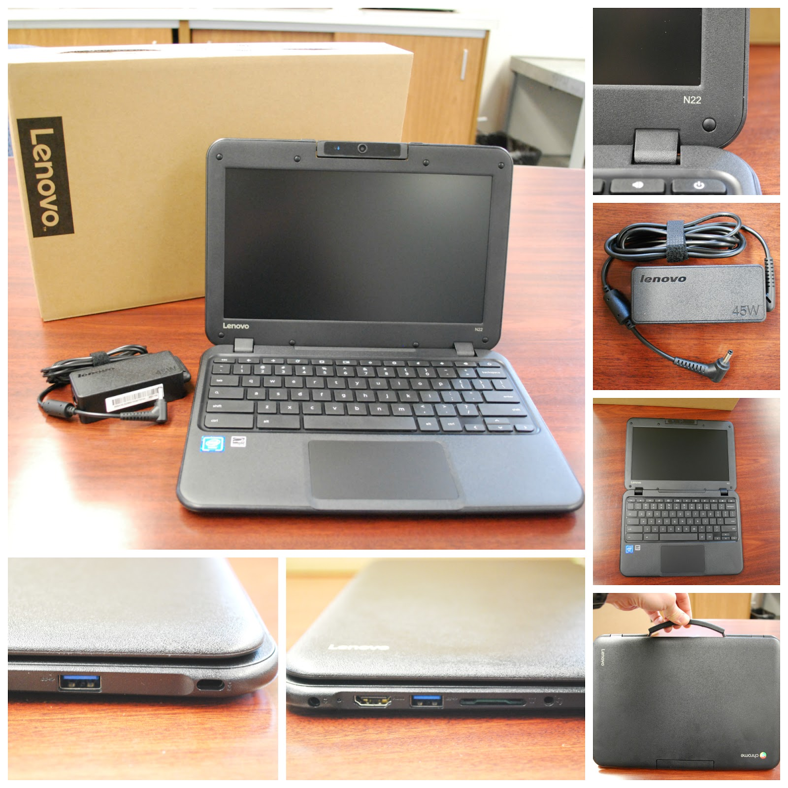 Leyden Techies: Student Reviews of the Lenovo N22 Chromebook