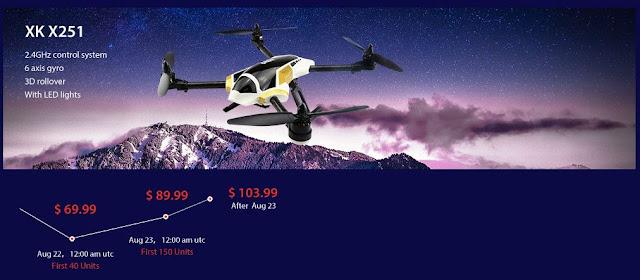 XK X251 Quadcopters Sale