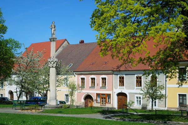 basse autriche waldviertel drosendorf village fortifié hauptplatz