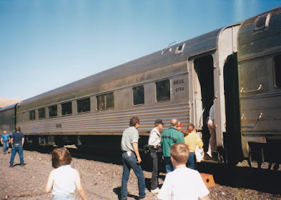 BKSX Coach #4734 in Wishram, Washington, on June 7, 1997