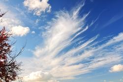 Blauer Himmel und weiße Wolken...