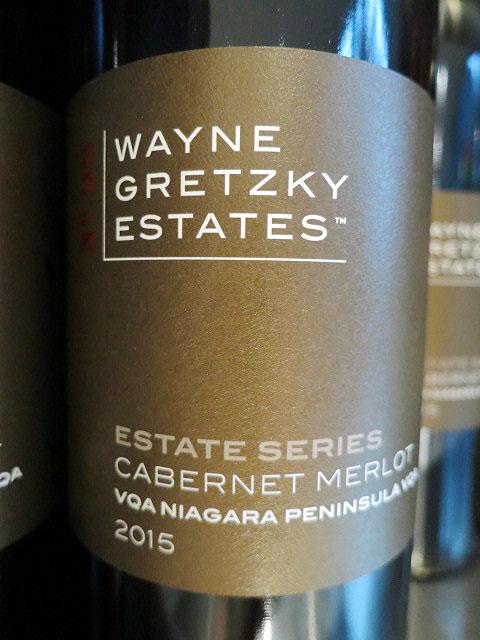 Wayne Gretzky Estates Series Cabernet Merlot 2015 (89 pts)