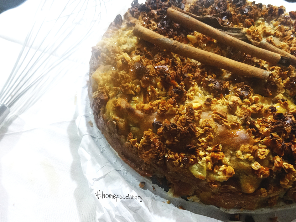 Low Fat No Sugar Cake Recipes: Homefood Story: No Sugar, Low Fat, Fruit And Nuts Crumble Cake