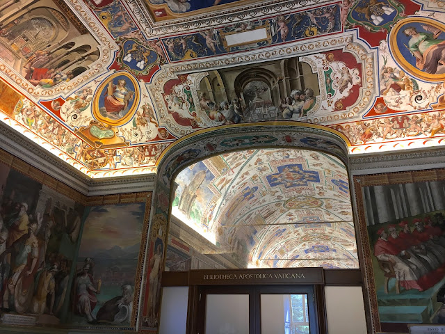 Musei-Vaticani-Biblioteca