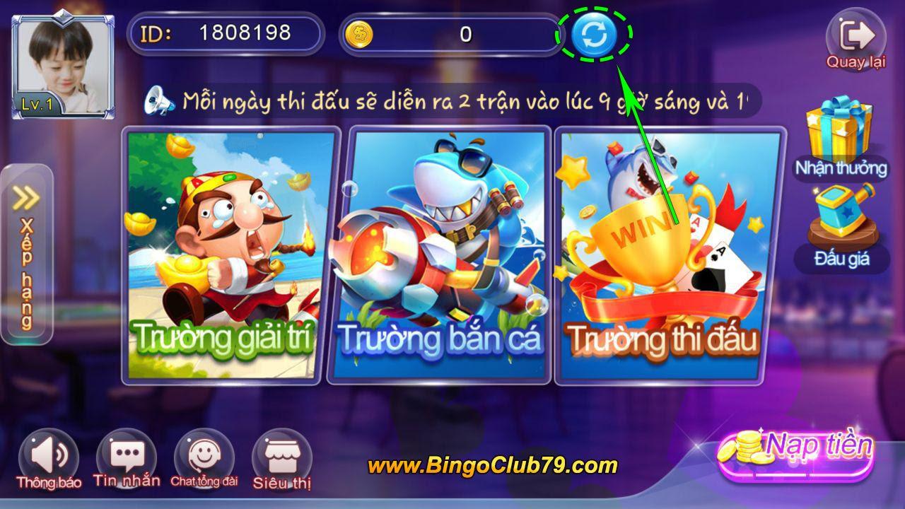 Cập nhật Xu Bingo Club