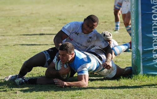 Argentina XV venció a Fiji Warriors